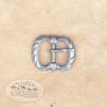 Přezka dvojitá hranatá 1,5cm