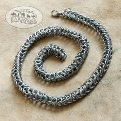 Řetěz na krk plochý