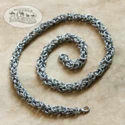 Řetěz na krk hranatý