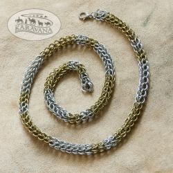 Řetěz na krk kombinovaný