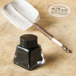 Látkový pytlík na psací brk