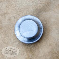 Puklice na štít lisovaná černěná